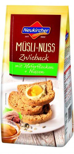 Mini Zwieback Müsli-Nuss