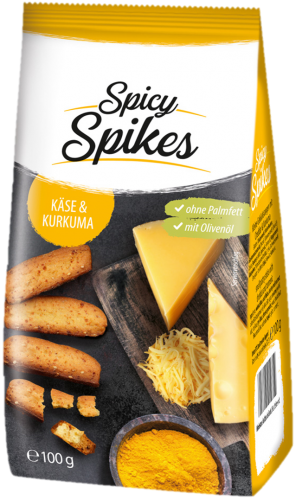 Spicy Spikes Käse_Kurkuma